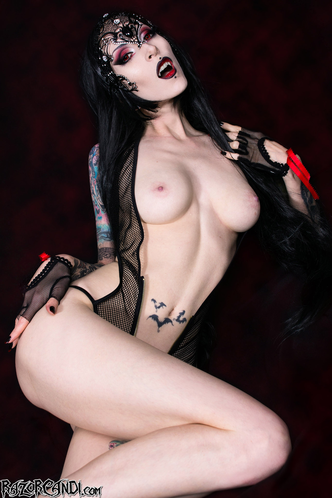 Goth erotica naked